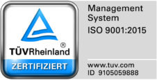 ISO9001-2015 certified